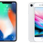 iPhone8とiPhoneXのスペック比較!違いと新機能について