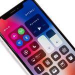 iPhoneX[10/テン]で通知センターとコントロールセンターを表示するには?